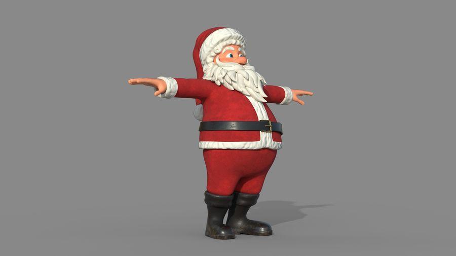 Santa Claus royalty-free 3d model - Preview no. 9