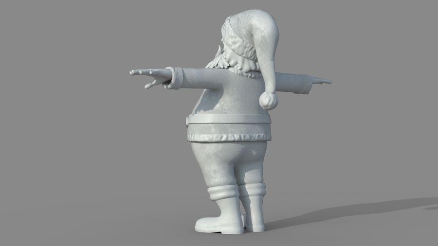 Santa Claus royalty-free 3d model - Preview no. 20