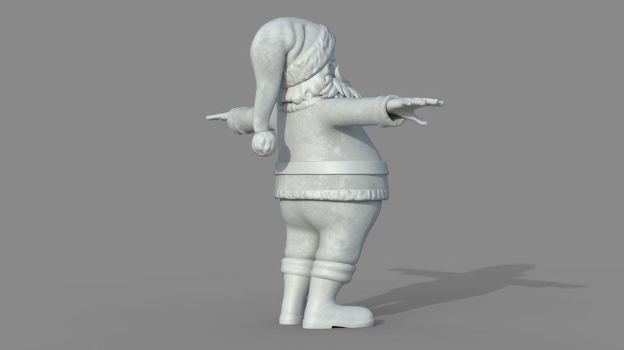 Santa Claus royalty-free 3d model - Preview no. 22