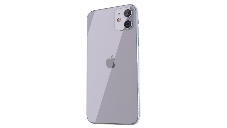 Apple iPhone 11 royalty-free 3d model - Preview no. 5