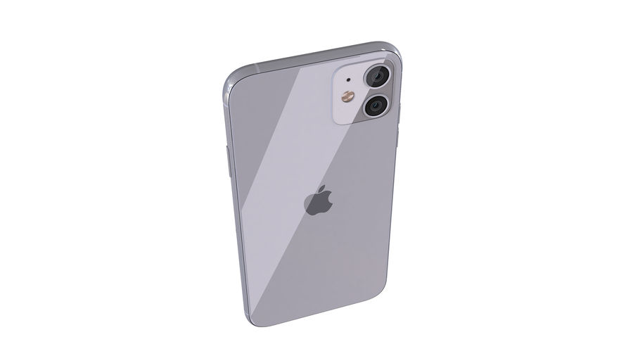 Apple iPhone 11 royalty-free 3d model - Preview no. 10