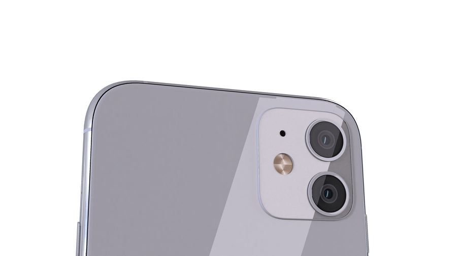Apple iPhone 11 royalty-free 3d model - Preview no. 9