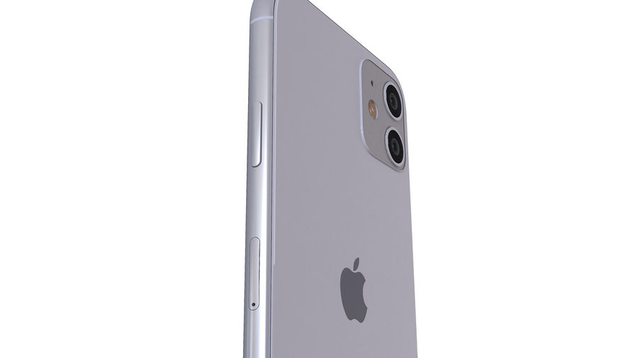 Apple iPhone 11 royalty-free 3d model - Preview no. 11