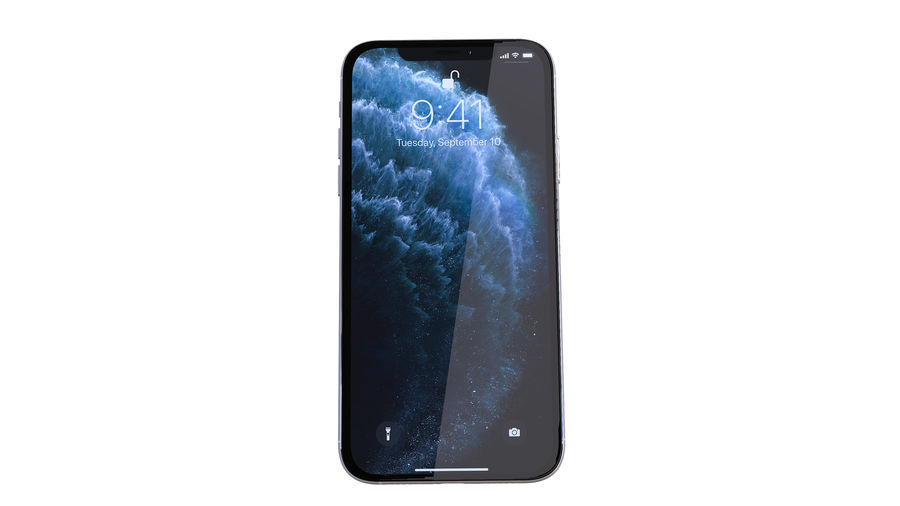 Apple iPhone 11 Pro and iPhone 11 royalty-free 3d model - Preview no. 32
