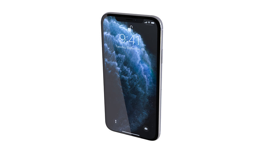 Apple iPhone 11 Pro and iPhone 11 royalty-free 3d model - Preview no. 26