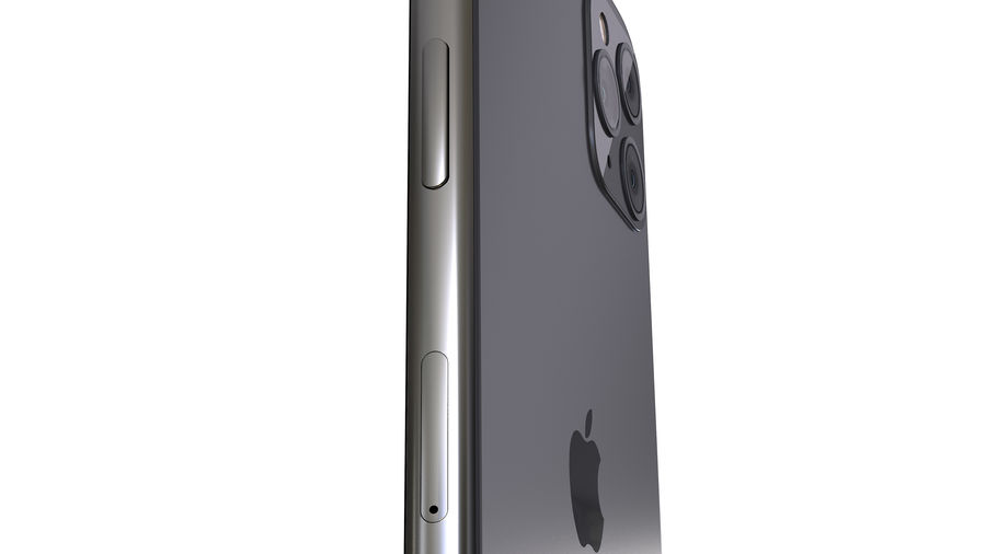 Apple iPhone 11 Pro and iPhone 11 royalty-free 3d model - Preview no. 6
