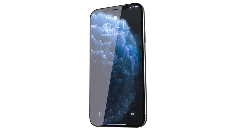 Apple iPhone 11 Pro and iPhone 11 royalty-free 3d model - Preview no. 16