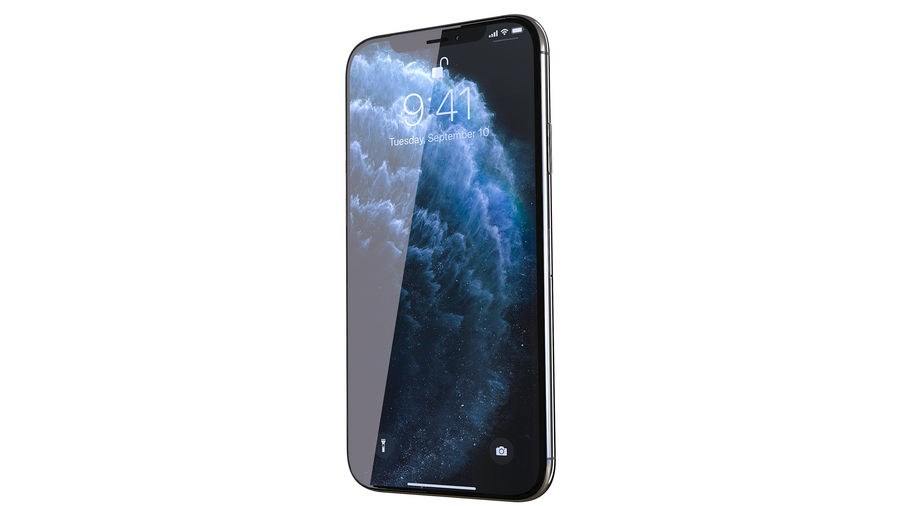 Apple iPhone 11 Pro and iPhone 11 royalty-free 3d model - Preview no. 4