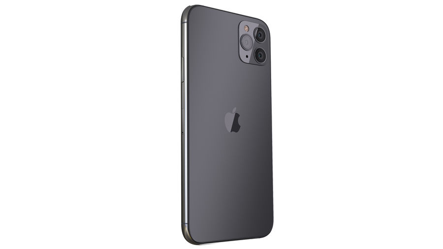 Apple iPhone 11 Pro and iPhone 11 royalty-free 3d model - Preview no. 9