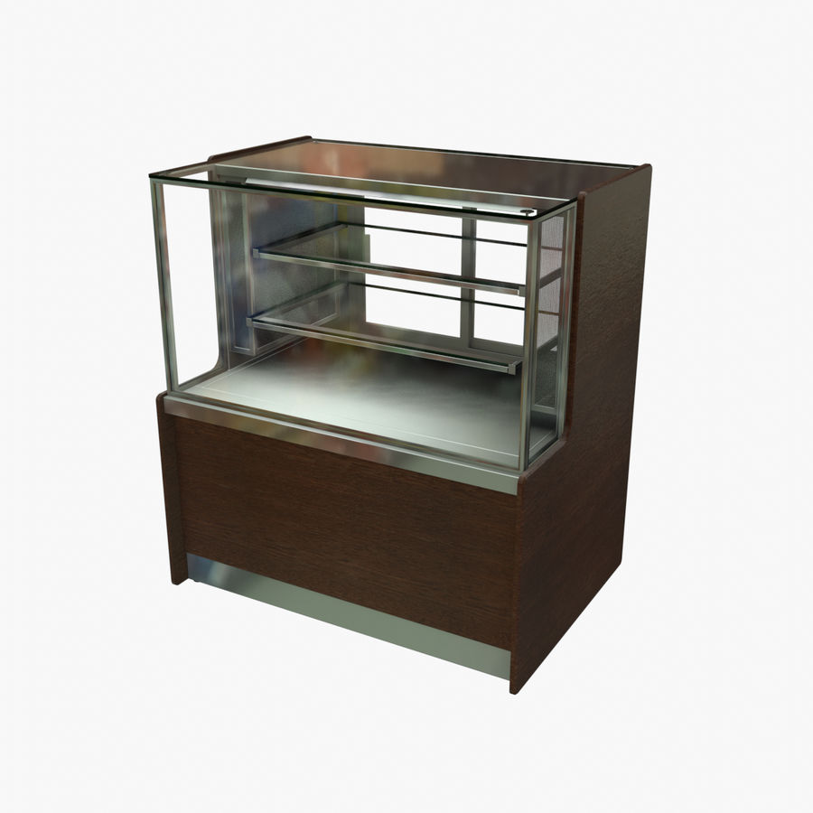 Meat & Cold Food Display royalty-free 3d model - Preview no. 1