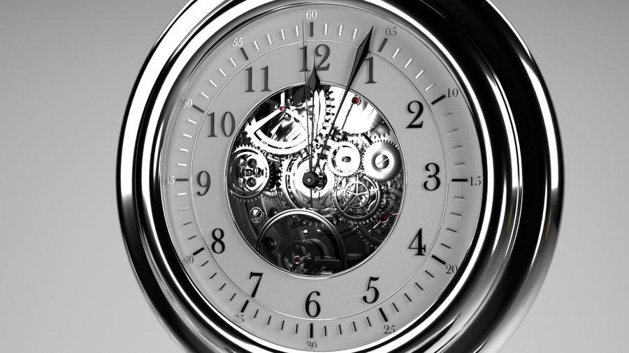 relógio de bolso royalty-free 3d model - Preview no. 3
