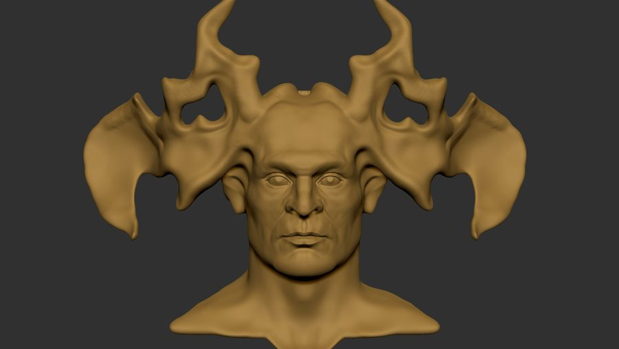 Demon royalty-free 3d model - Preview no. 4