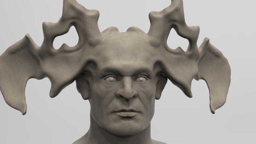 Demon royalty-free 3d model - Preview no. 1
