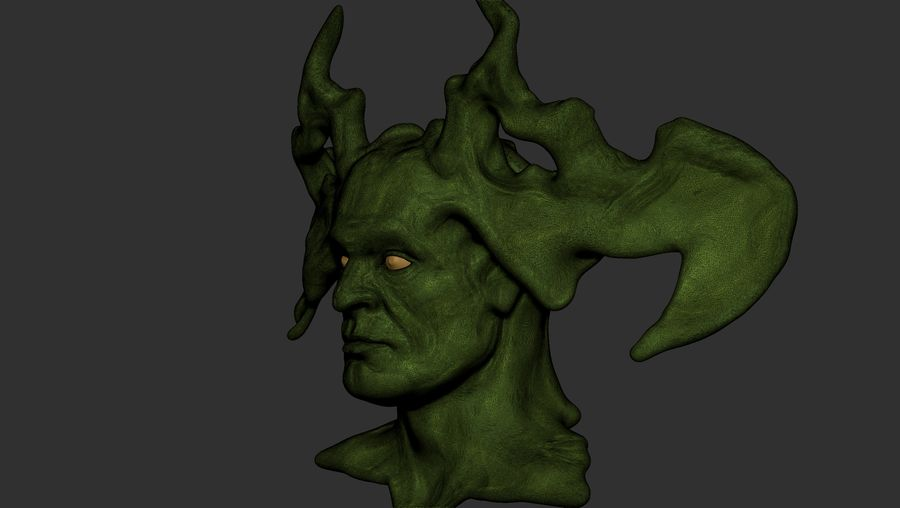 悪魔 royalty-free 3d model - Preview no. 6