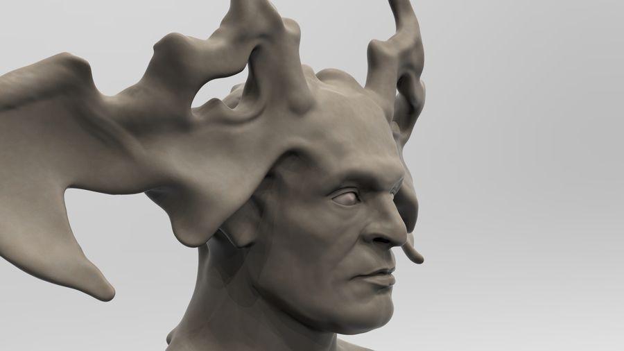 Demon royalty-free 3d model - Preview no. 2
