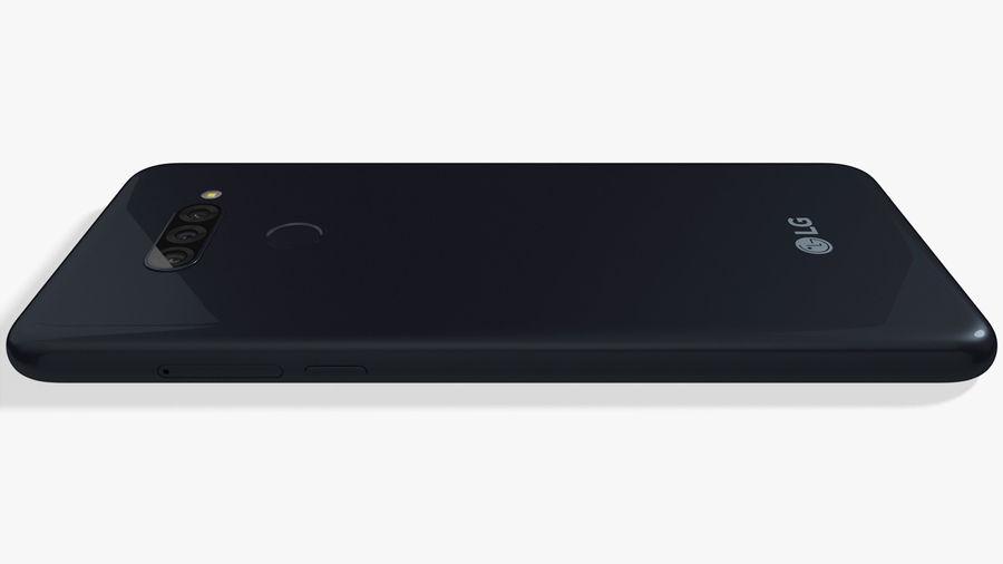 LG K50S New Aurora Black royalty-free 3d model - Preview no. 12