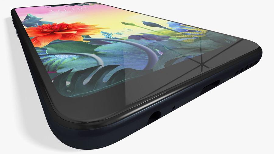 LG K50S New Aurora Black royalty-free 3d model - Preview no. 10