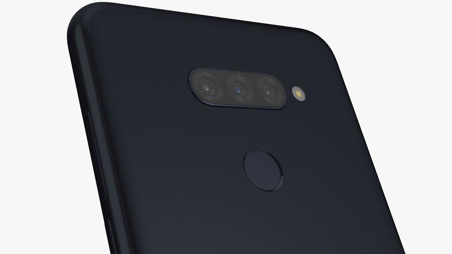 LG K50S New Aurora Black royalty-free 3d model - Preview no. 5