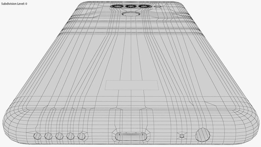 LG K50S New Aurora Black royalty-free 3d model - Preview no. 25