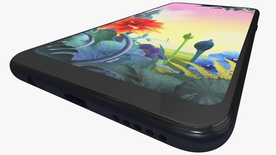 LG K50S New Aurora Black royalty-free 3d model - Preview no. 11