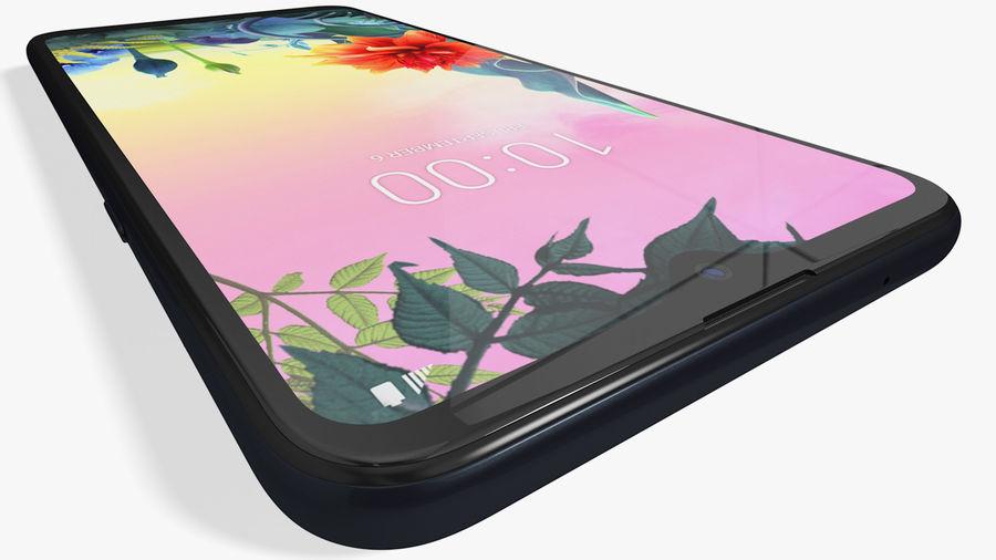 LG K50S New Aurora Black royalty-free 3d model - Preview no. 9