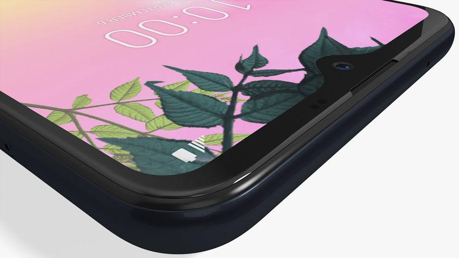 LG K50S New Aurora Black royalty-free 3d model - Preview no. 15