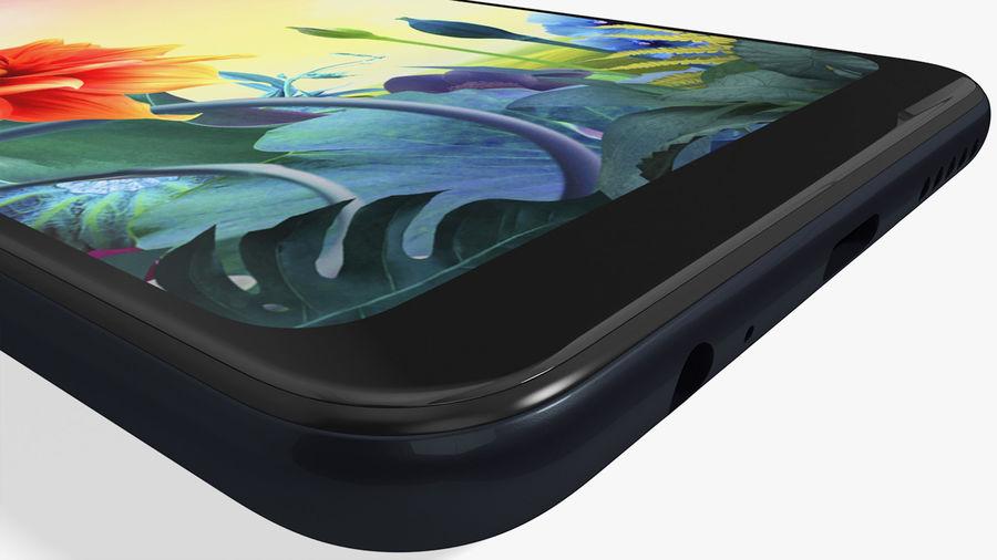 LG K50S New Aurora Black royalty-free 3d model - Preview no. 16