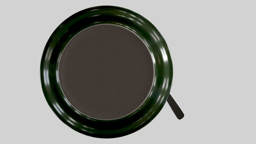 Cup For Tea royalty-free 3d model - Preview no. 8