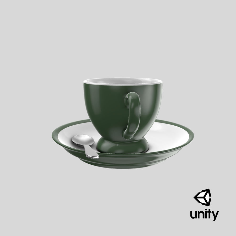 Cup For Tea royalty-free 3d model - Preview no. 24