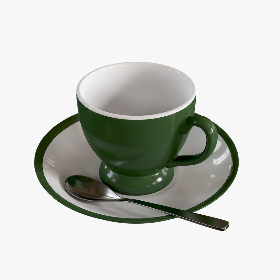 Cup For Tea royalty-free 3d model - Preview no. 1