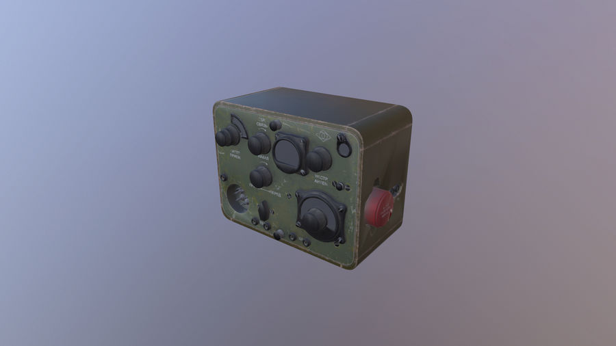 Radio station North royalty-free 3d model - Preview no. 1