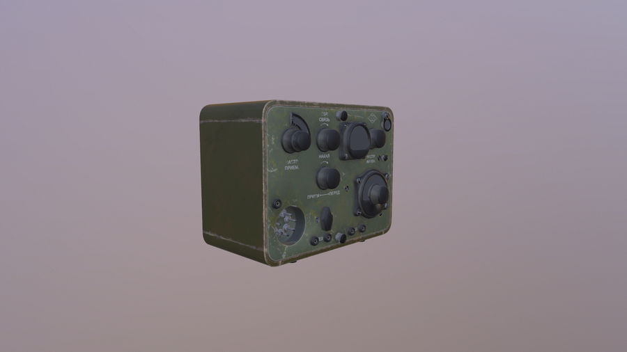 Radio station North royalty-free 3d model - Preview no. 2