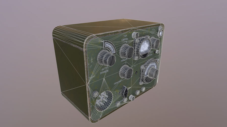 Radio station North royalty-free 3d model - Preview no. 6