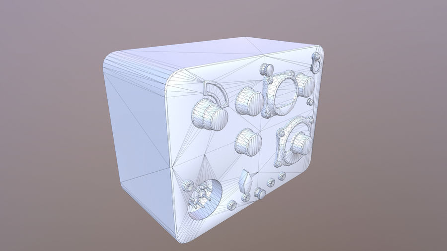 Radio station North royalty-free 3d model - Preview no. 7