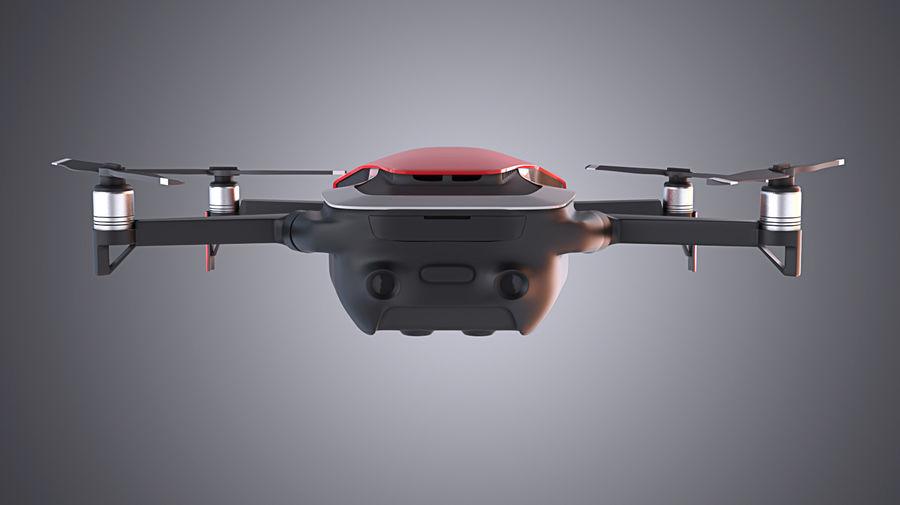 DJI Mavic Air Drone royalty-free 3d model - Preview no. 6