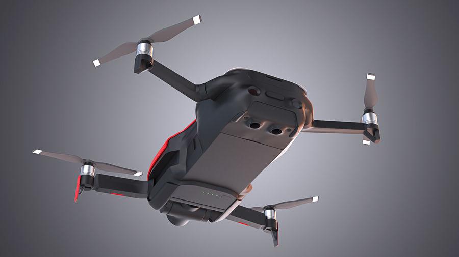DJI Mavic Air Drone royalty-free 3d model - Preview no. 5