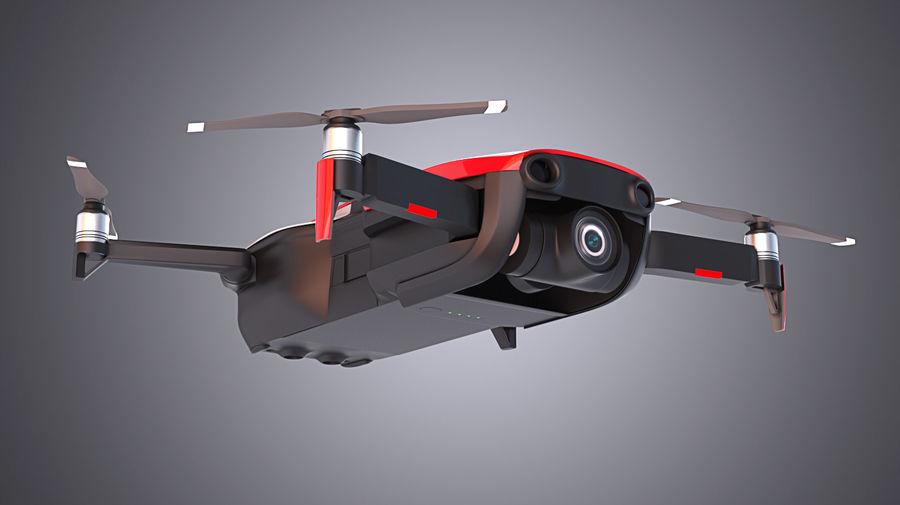 DJI Mavic Air Drone royalty-free 3d model - Preview no. 4