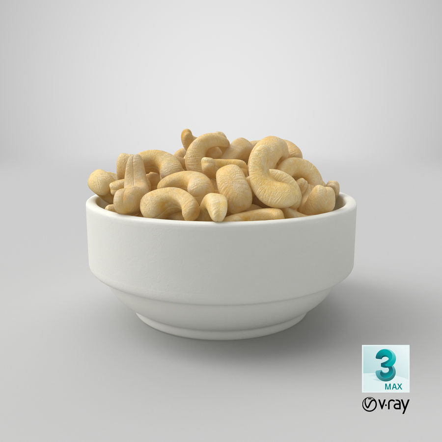 Cashew in Kom royalty-free 3d model - Preview no. 34