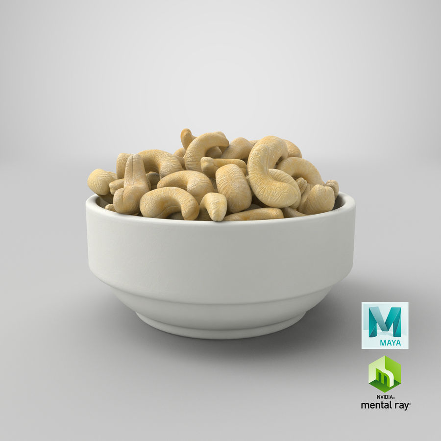 Cashew in Kom royalty-free 3d model - Preview no. 36