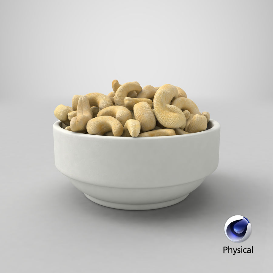 Cashew in Kom royalty-free 3d model - Preview no. 30