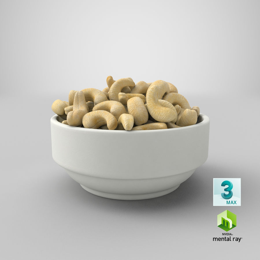 Cashew in Kom royalty-free 3d model - Preview no. 33