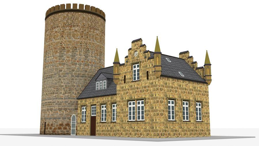 Burg Ravensberg Germany Building royalty-free 3d model - Preview no. 4