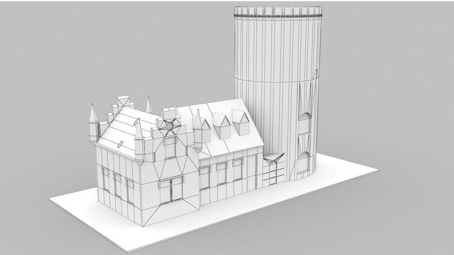 Burg Ravensberg Germany Building royalty-free 3d model - Preview no. 11