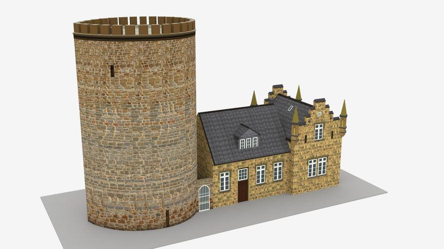 Burg Ravensberg Germany Building royalty-free 3d model - Preview no. 3