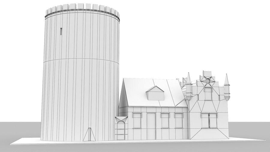 Burg Ravensberg Germany Building royalty-free 3d model - Preview no. 13