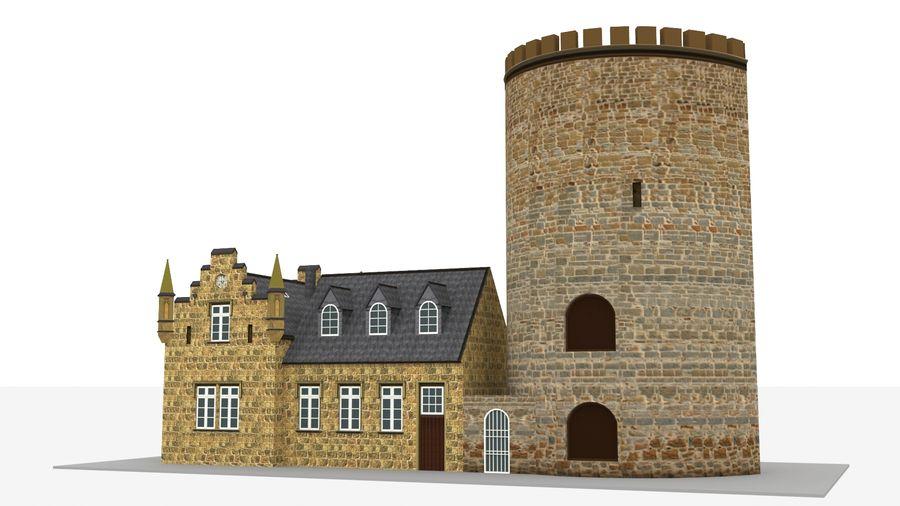 Burg Ravensberg Germany Building royalty-free 3d model - Preview no. 9