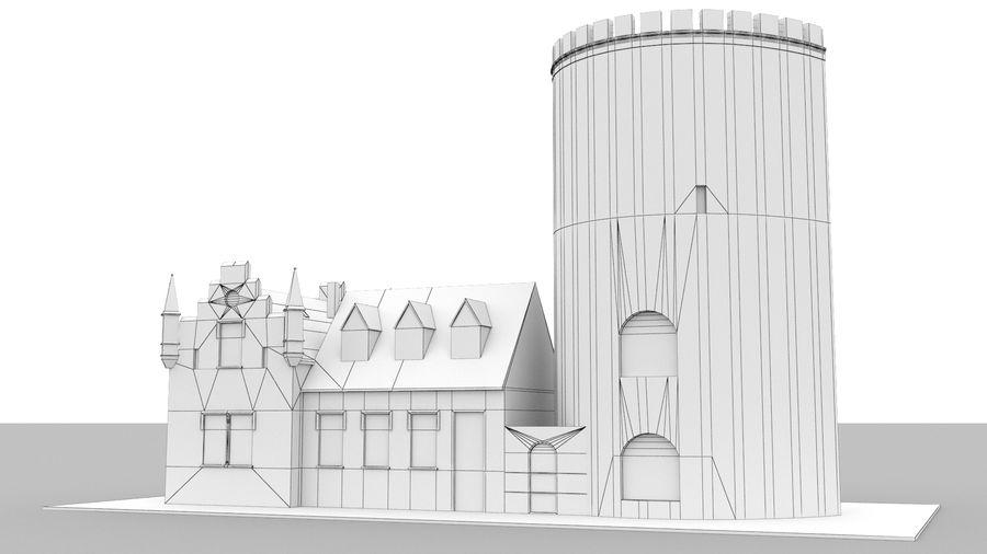 Burg Ravensberg Germany Building royalty-free 3d model - Preview no. 14