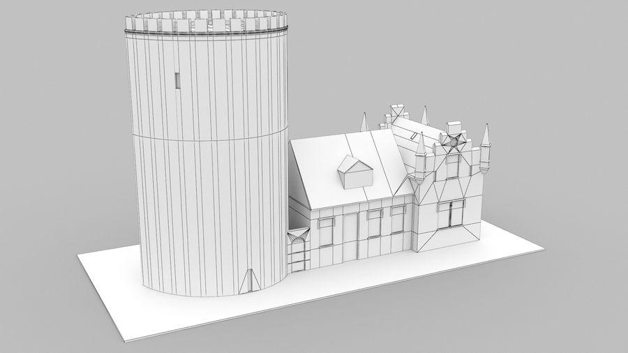 Burg Ravensberg Germany Building royalty-free 3d model - Preview no. 10