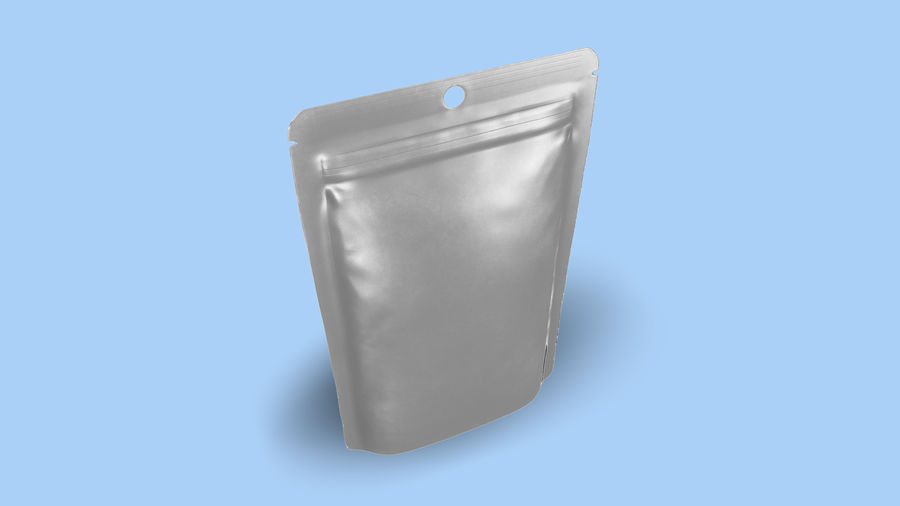 Candy Bag Food Bag(1) royalty-free 3d model - Preview no. 4