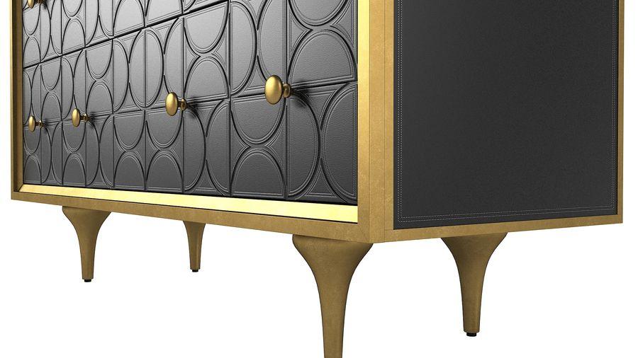 John Richard Hadleigh Sideboard royalty-free 3d model - Preview no. 7